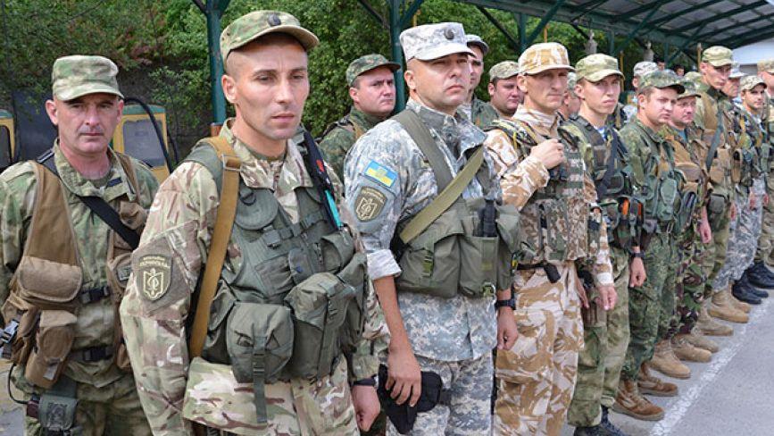 """В зону АТО поїхало 50 бійців батальйону """"Тернопіль"""""""