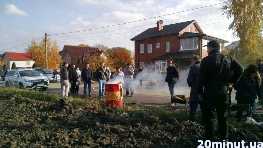 В гості до Надала: активісти прийшли смажити шашлики на торфі (оновлено)