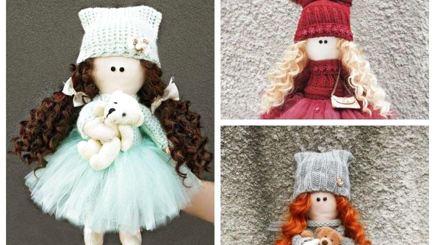 Тернополянка після зміни у McDonald's робить унікальні ляльки