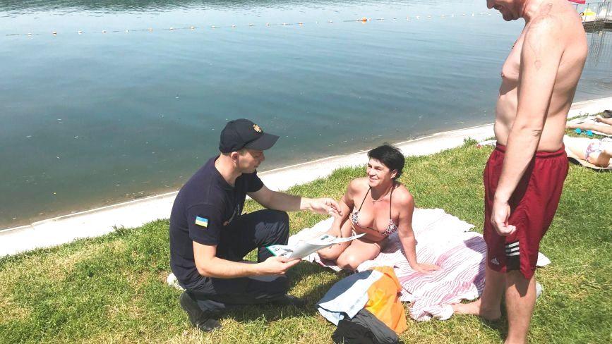 У Тернополі людей вчили, як бути в безпеці на воді