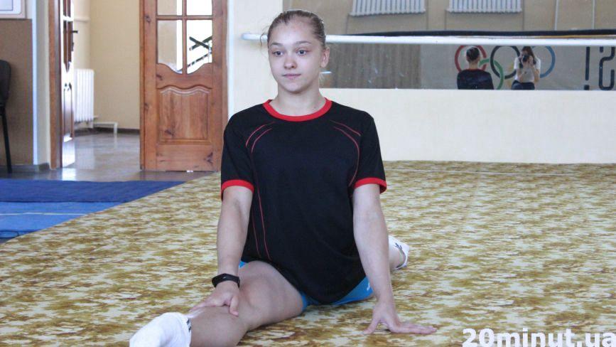 Як тренується та чим живе гімнастка-чемпіонка Анастасія Бачинська