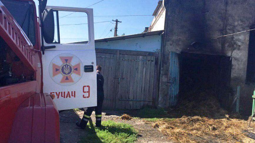 На пожежі в Бучацькому районі 14-літній підліток отримав травми