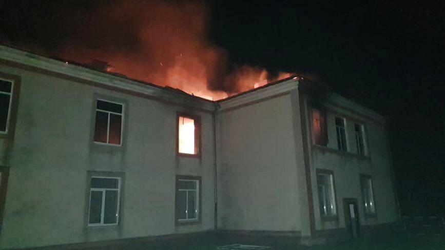 На Тернопільщині згорів цілий поверх школи