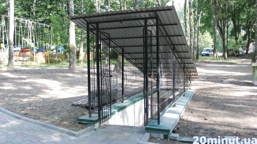 Безкоштовні вбиральні в парку Національного відродження нарешті працюють: що змінилося