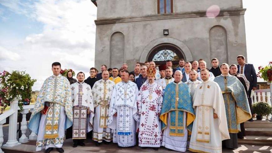 На Тернопільщині освятили новий храм