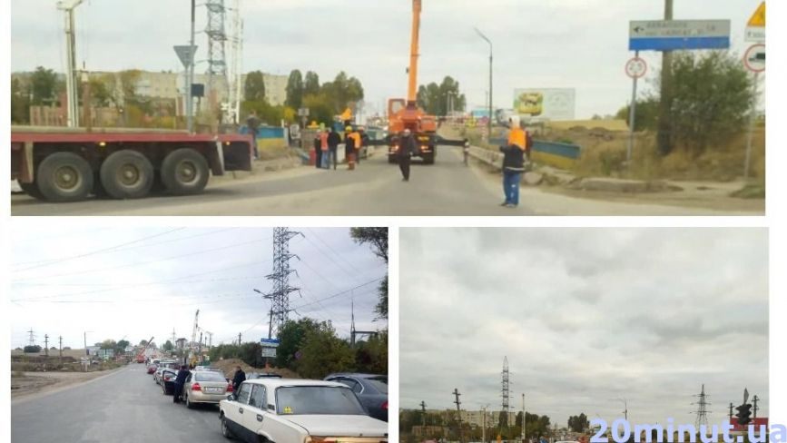 """Гаївський міст """"заблокували"""" в годину пік. Тернополяни жаліються на величезні затори (фото)"""