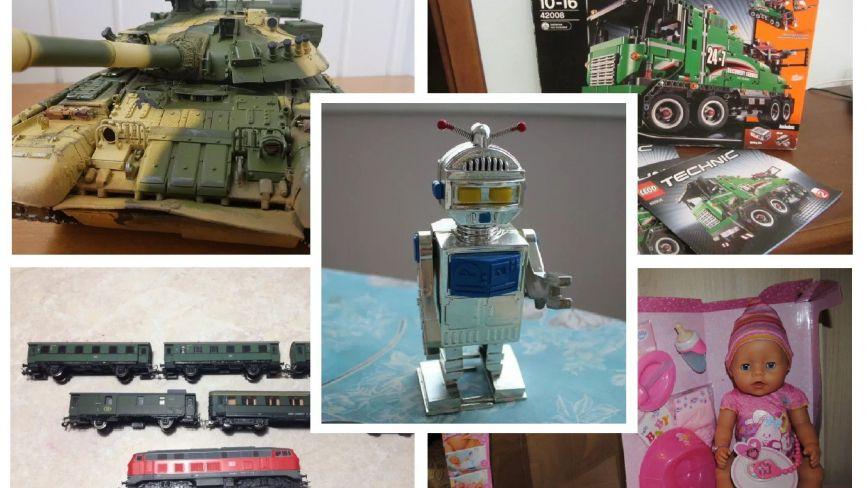 Модель радянського танка та іграшкова залізиця: що продають терополяни в інтернеті