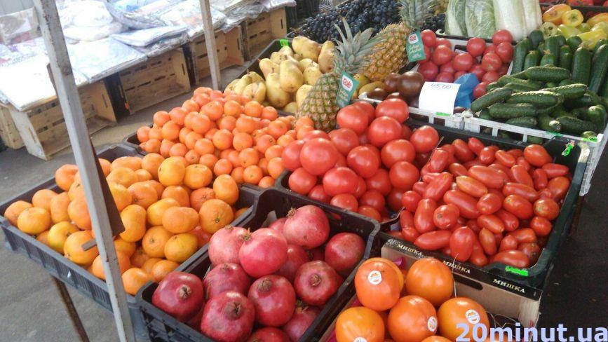 Як змінюються ціни на овочі та фрукти. Що чекати до Нового року
