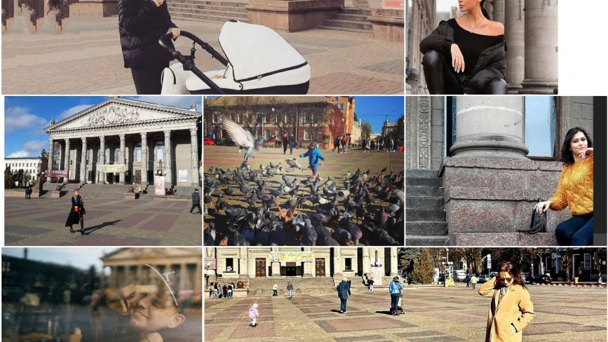 ТОП-10 листопадових фото на Театральному майдані (шукайте свою світлину з Instagram)