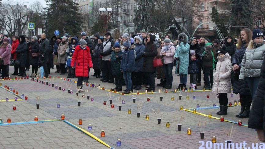 """""""Запалити свічку у цей день - найменше, що ми можемо зробити"""": у Тернополі вшанували пам'ять жертв Голодоморів"""