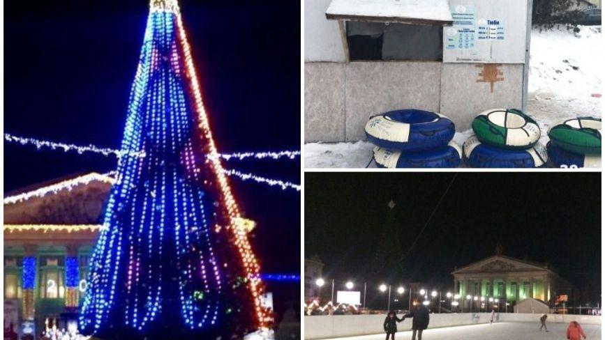 Гірка для сноутюбів на Чорновола, змінена ялинка та ковзанка: як готуватимуть Тернопіль до Нового року