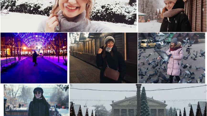Сніг та новорічні вогники: як тернополяни розпочали зиму в Instagram (шукайте своє фото)