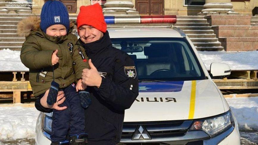На Різдво патрульні запрошують тернополян та гостей міста на Театральний майдан