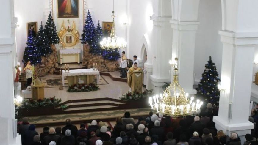 Розклад різдвяних богослужінь у церквах Тернополя