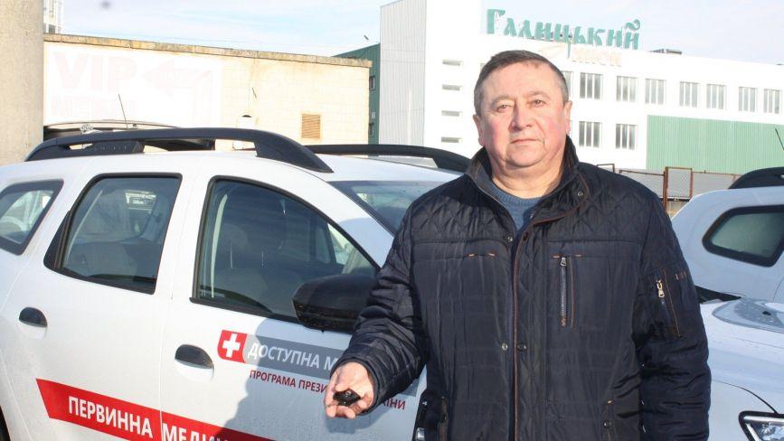 Ще 62 Renault DUSTER отримали медики Тернопільщини