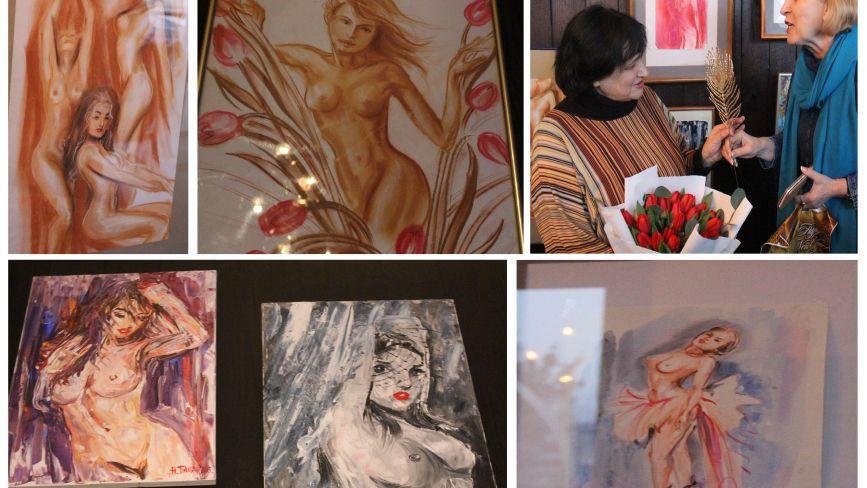 Для своїх картин у стилі ню тернополянка бере образи моделей з Playboy. ФОТО