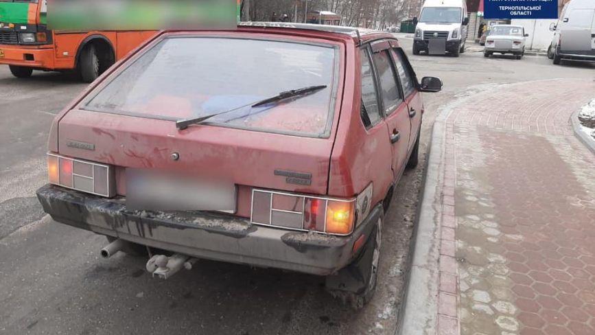 На Коновальця затримали п'яного водія: скільки ще нетверезих їздили цього року Тернополем
