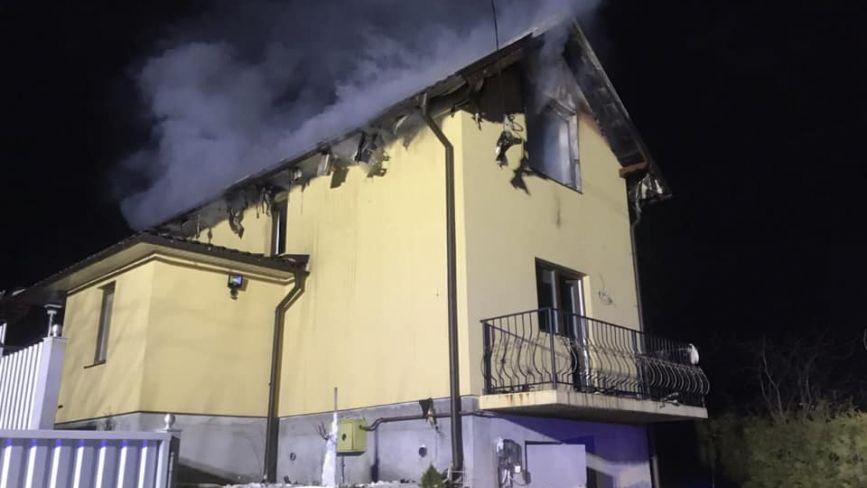 Пожежу неподалік Тернополя ліквідовували два підрозділи рятувальників