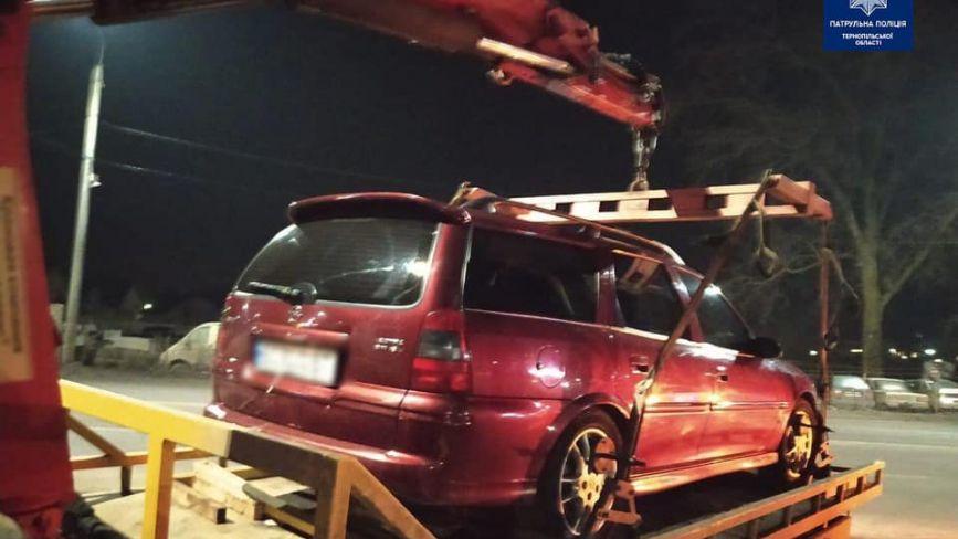 Відмовився проходити Драгер: у п'яного тернополянина забрали авто на штрафмайданчик