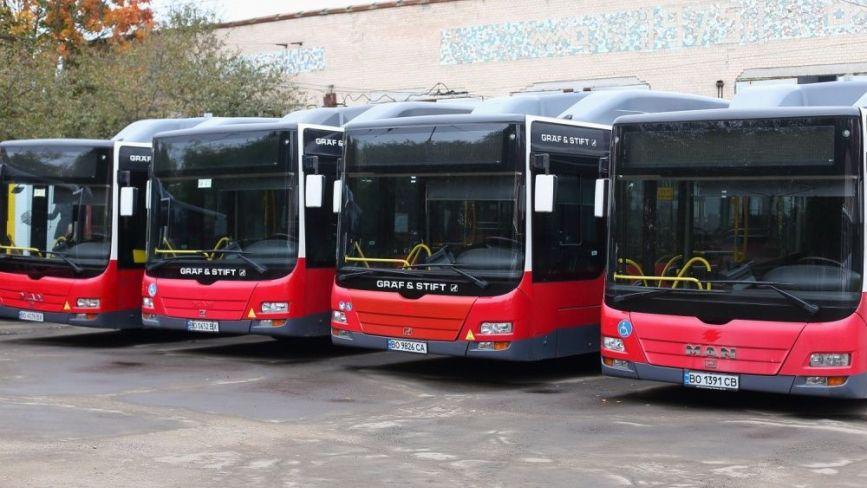 Автобуси і тролейбуси у Тернополі курсуватимуть інакше: коли чекати змін. Є КАРТИ