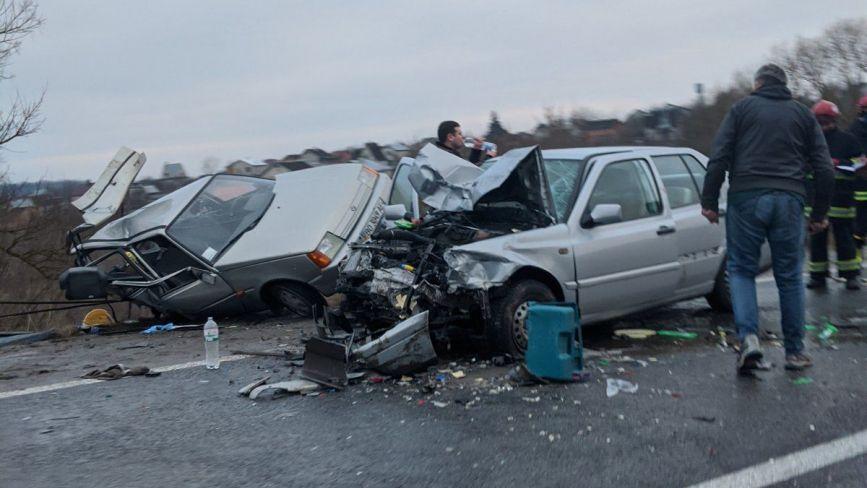 Біля Ангелівки ДТП: зіткнулися дві автівки. Серед постраждалих - 4-річний хлопчик (оновлено)