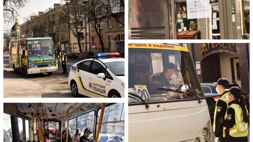 У Тернополі частина водіїв громадського транспорту перевозили пасажирів понад дозволену кількість