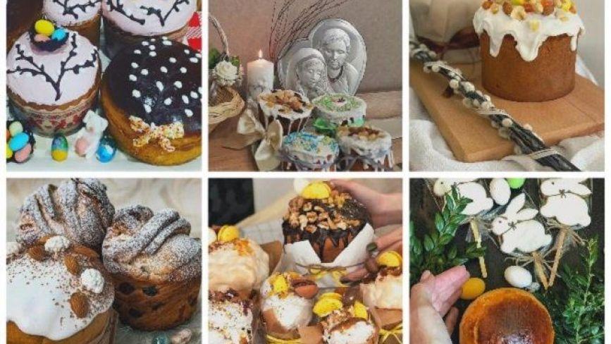 Крафіни, бабки і пасочки: тернополяни в Instagram вихваляються великодньою випічкою