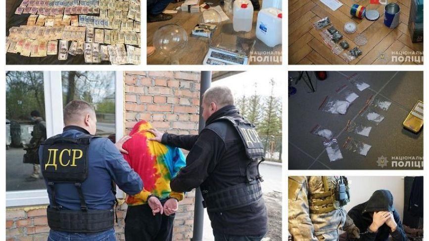 У Тернополі ліквідували нарколабораторію, де амфетамін варили з ртуті, спирту та оцту (ФОТО. ВІДЕО)