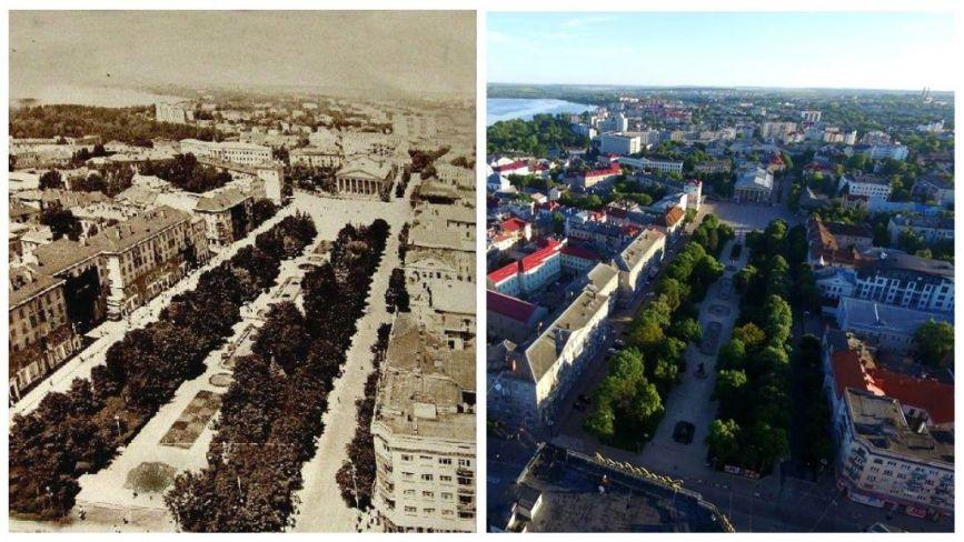Було - стало: як виглядав Тернопіль колись і тепер