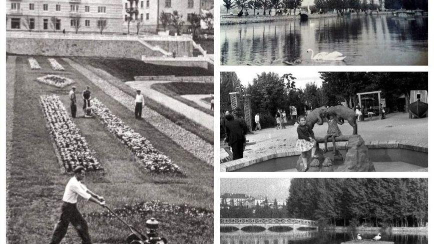 Колись і тепер: як виглядав парк Шевченка 60 років тому