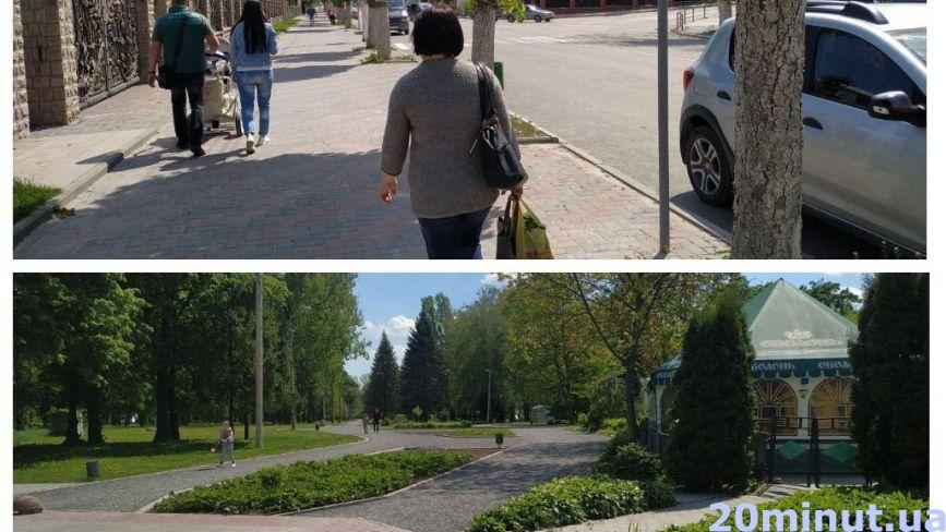 Майже всі ходять без масок: як виглядає один з райцентрів на Тернопільщині під час карантину (ФОТОРЕПОРТАЖ)