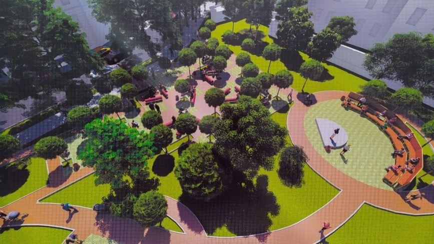 Як облаштують нову відпочинкову зону в центрі Тернополя