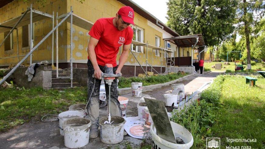 У Тернополі почали утеплювати дитячі садки: почали з найдавнішого