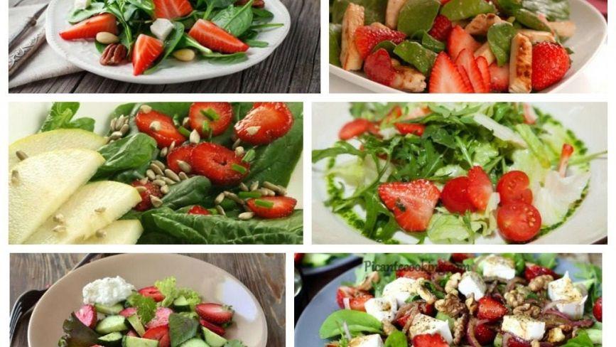 Рецепти салатів з полуницею, які здивують вас незвичним поєднанням інгредієнтів (ФОТО)