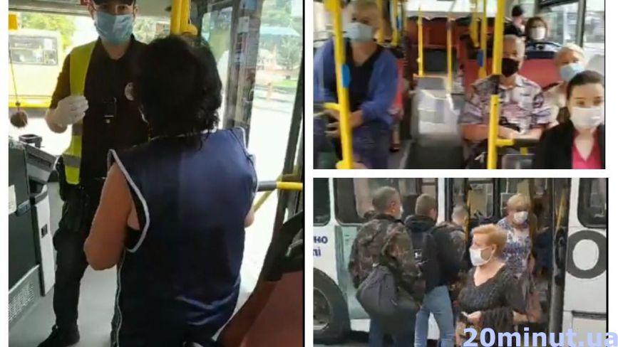 """Як реагують у маршрутках, коли бачать поліцію: чи всі чемні? Перевірили журналісти """"20 хвилин"""""""