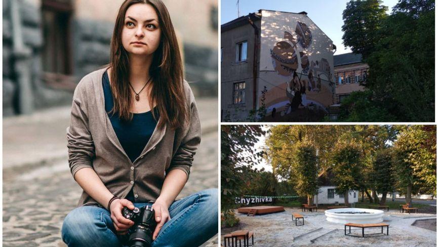 """""""Важливі деталі"""": архітекторка з Теребовлі про створення 11-метрового муралу, урбаністику та громадські простори"""