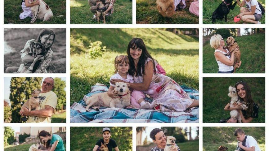 Тернополяни влаштували фотосесію з домашніми улюбленцями (ФОТО. ВІДЕО)