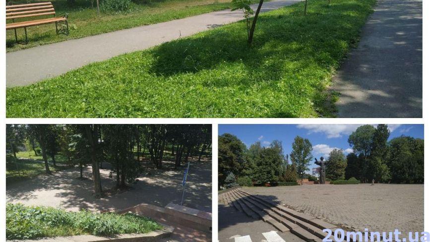 Одні гарні та доглянуті, інші – занедбані: як виглядають парки Тернополя