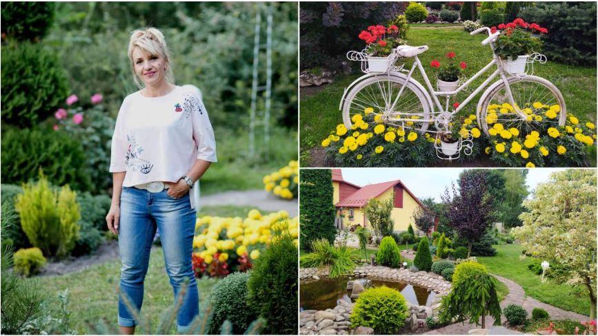 """""""Приїжджають фотографуватись на весілля"""": у Ланівцях жінка замість городу  посадила казковий сад"""
