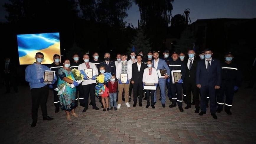 Президент нагородив двох героїв-рятівників із Тернопільщини