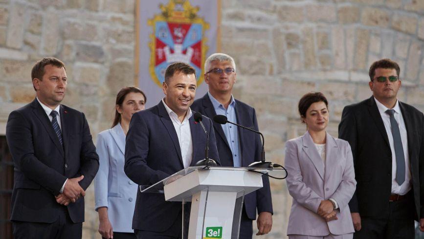 Партія «Слуга Народу» представила команду, яка балотуватиметься у місцеві ради (пресслужба партії)