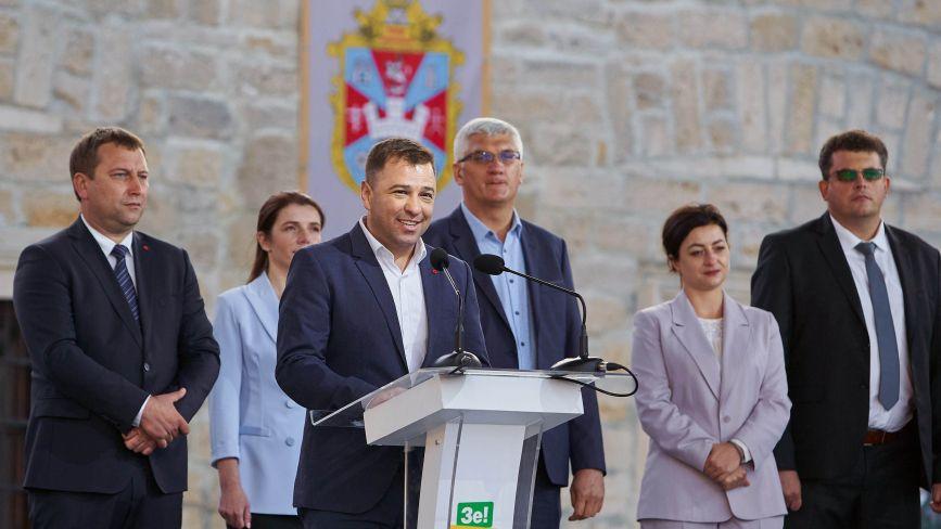Майбутній кандидат на міського голову Тернополя від «Слуги Народу» Віктор Гевко: «Створимо рівні умови для всіх, хто хоче започаткувати власний бізнес» (пресслужба партії)