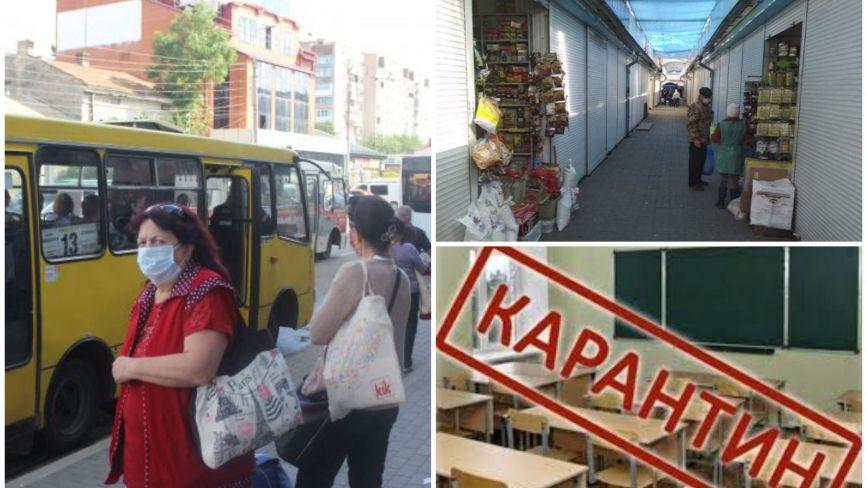 """Тернопіль знову """"червоний"""": як працюватимуть школи і садки, транспорт та заклади харчування"""