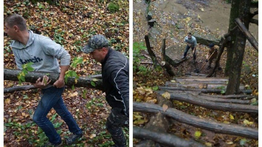 Після толоки в Русилові можна спуститися до ущелини одного з найбільших водоспадів Тернопільщини (ФОТО)