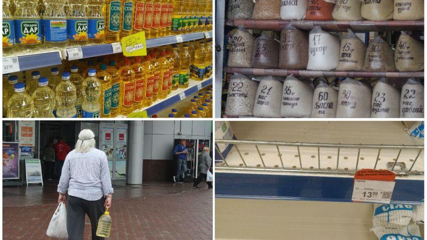 «Не більше п'яти кілограм в одні руки»: чому  дорожчають цукор та олія
