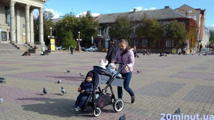 Транспорт для дітей: на чому катають маленьких тернополян (ФОТОРЕПОРТАЖ)