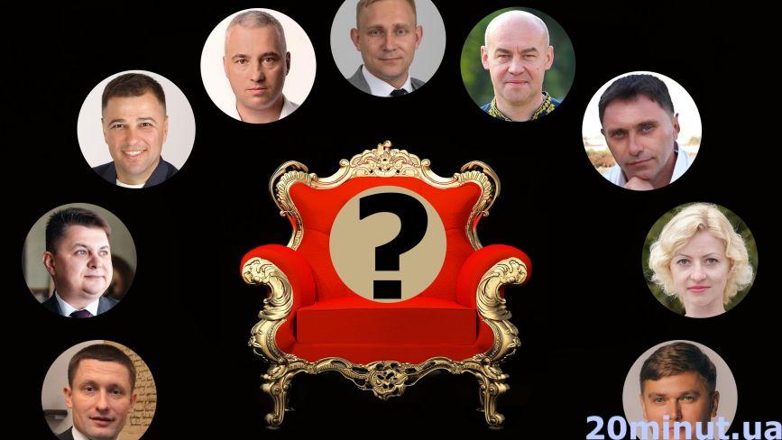 """Хто лідирує на місцевих виборах у Тернополі.  Попередні незалежні результати опитування """"20 хвилин"""""""