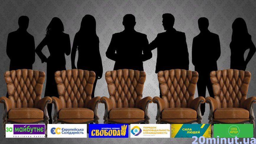 Працівники міськради, бізнесмени та нардеп. Хто займе депутатські крісла: імена по округах та партіях