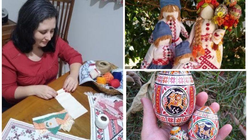 Бразилійка шукає свою родину із Заліщиків та створює українські писанки, щоб приїхати сюди