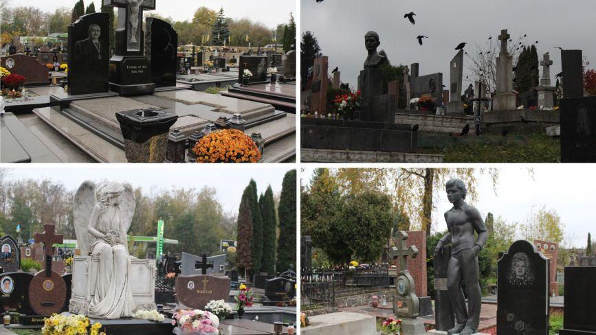 Є пам'ятники ручної роботи за десятки тисяч доларів: репортаж з Микулинецького кладовища